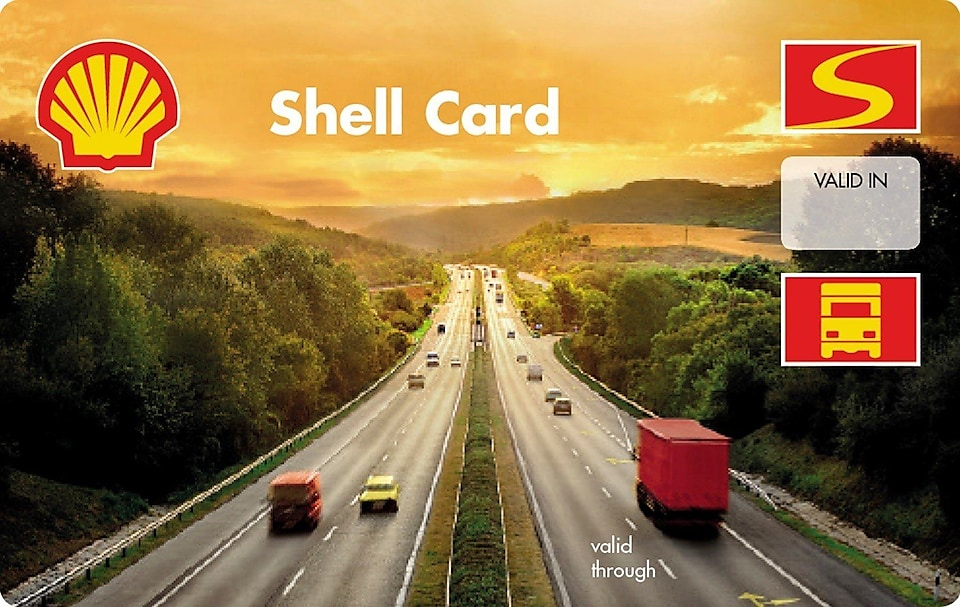 Shell card